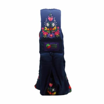 Baba Slings Embroidery Gendongan Bayi - Navy Mexican_1