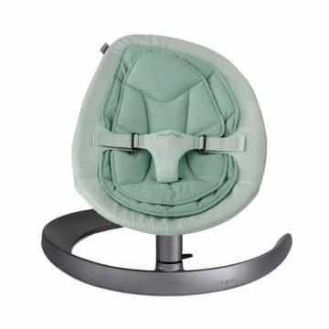 Nuna Leaf Baby Bouncer - Curv Robbin Turquoise_1