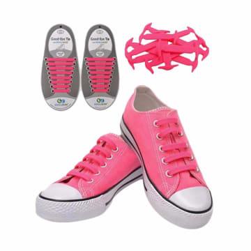 Koollaces Anak Tali Sepatu - Pink Glow_1