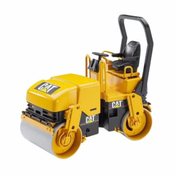 Bruder Toys 2433 Cat Asphalt Drum Compactor Mainan Anak - Kuning_1