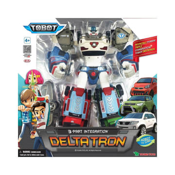 TOBOT FIGURE DELTATRON ROBOT MAINAN_2