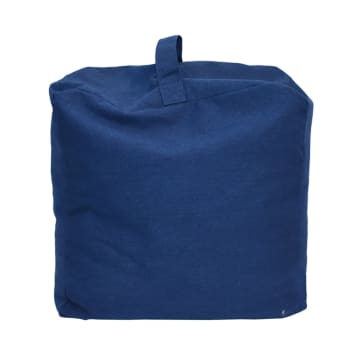 BEAN BAG CANVAS - BIRU_1