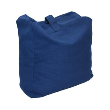 BEAN BAG CANVAS - BIRU_2
