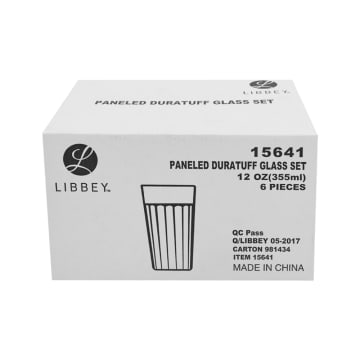 LIBBEY DURATUFF SET GELAS 355 ML 6 PCS_2