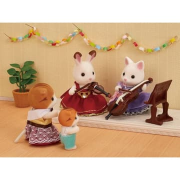 SYLVANIAN FAMILIES CELLO CONCERT SET_4