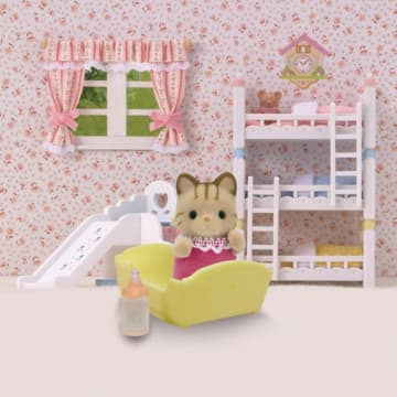 SYLVANIAN FAMILIES STRIPED CAT BABY_3