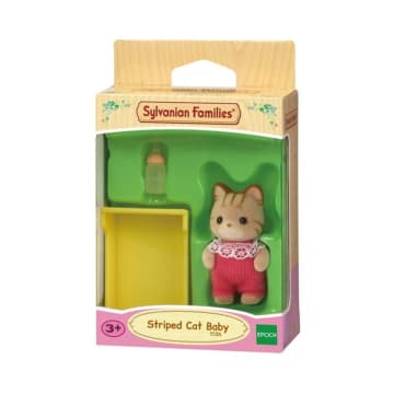 SYLVANIAN FAMILIES STRIPED CAT BABY_2