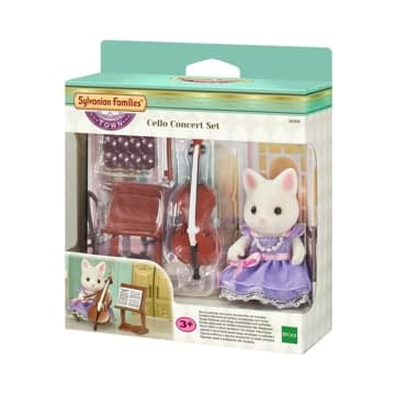 SYLVANIAN FAMILIES CELLO CONCERT SET_2