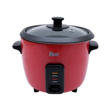 KRIS RICE COOKER MANUAL 600 ML SA-RC-CFXB12 - MERAH_1