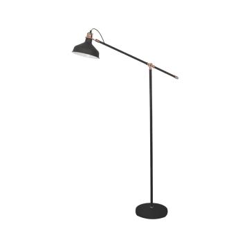 EGLARE LAMPU LANTAI MINIMAL E27 - HITAM_1