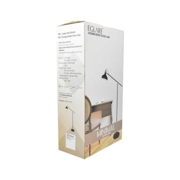 EGLARE LAMPU LANTAI MINIMAL E27 - HITAM_2