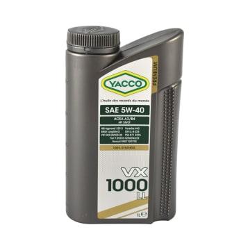 YACCO OLI MESIN MOBIL VX1000LL 5W40 1 LTR_1