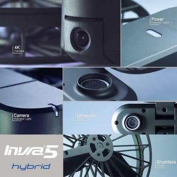 BRICA INVRA 5 HYBRID AIRSELFIE DRONE FREE B-PRO5 AE1 4K_5