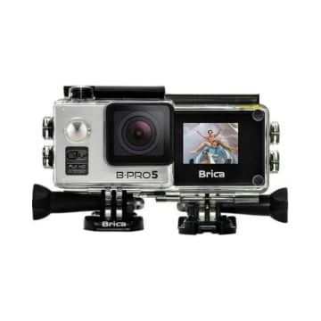 BRICA B-PRO 5 ALPHA EDITION SILVER 1.5INCH LCD + T-SHIRT_2