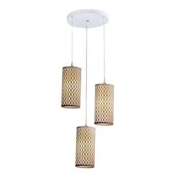 EGLARE LAMPU GANTUNG HIAS OVALE ROUND 3L - PUTIH_1