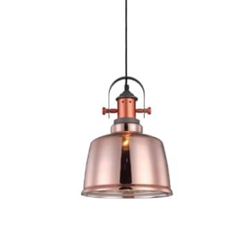 LAMPU GANTUNG HIAS FULHAM 22X100 CM - COPPER_1