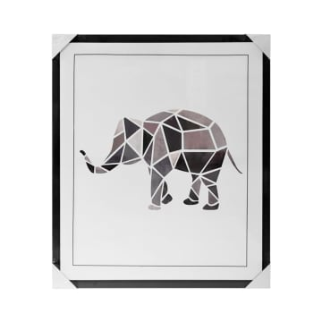 HIASAN DINDING ELEPHANT 60X70X2.7 CM_1