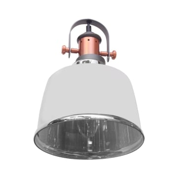 FULHAM LAMPU GANTUNG HIAS 22X100 CM - ABU-ABU_3