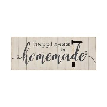 HIASAN DINDING HAPPINESS HOMEMADE 92X35.5 CM_1
