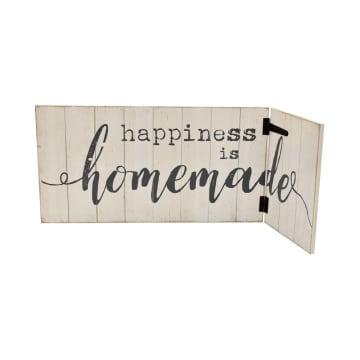 HIASAN DINDING HAPPINESS HOMEMADE 92X35.5 CM_2