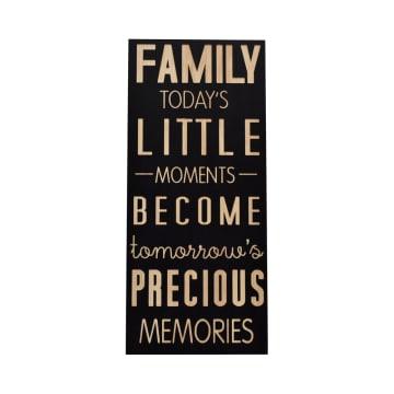 HIASAN DINDING DEKORASI FAMILY MOMENT 40.5X91.5X2 CM_1