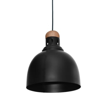 VIVO LAMPU GANTUNG HIAS 24X98 CM - HITAM_1
