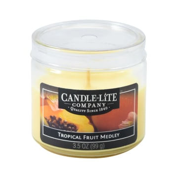 CANDLE LITE TROPICAL FRUIT MEDLEY LILIN AROMATERAPI 99 GR_1