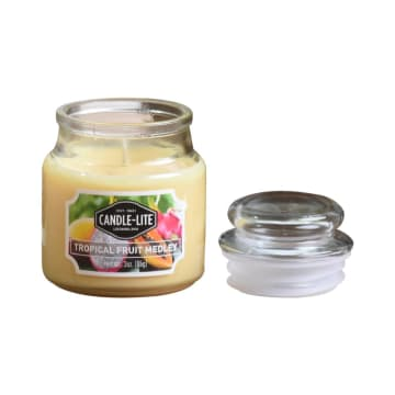 CANDLE LITE TROPICAL FRUIT MEDLEY LILIN AROMATERAPI 85 GR_2