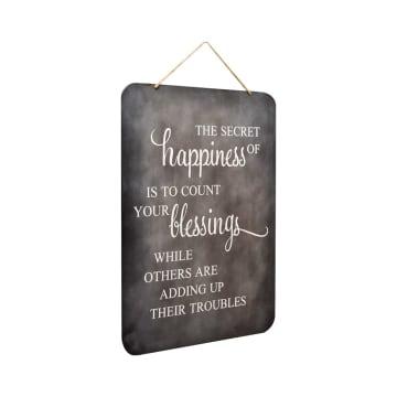 HIASAN DINDING HAPPINESS 44.5X1.5X62 CM_2