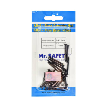 MR.SAFETY SET PAKU BETON 3 CM - HITAM_1