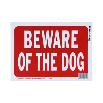 HY-KO PELAT PINTU BEWARE OF THE DOG 22X30 CM_1
