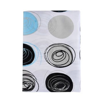TIRAI KAMAR MANDI DRAWN CIRCLES 180X180 CM_2