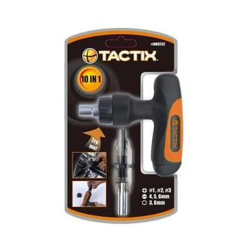 TACTIX SET OBENG RACHET T-DRIVER 10 IN 1_1