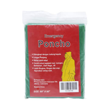 PONCHO EMERGENCY - HIJAU_1
