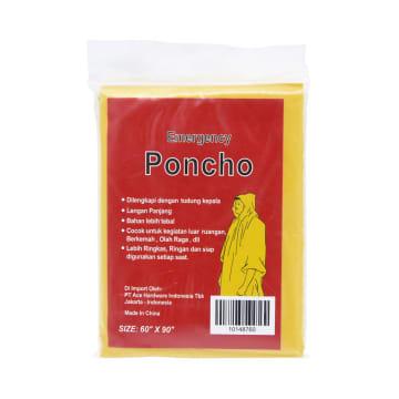 PONCHO EMERGENCY - KUNING_1