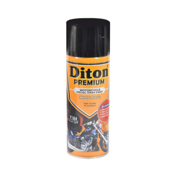 DITON CAT SEMPROT MOTOR PREMIUM 400 ML - HITAM DOFF_1