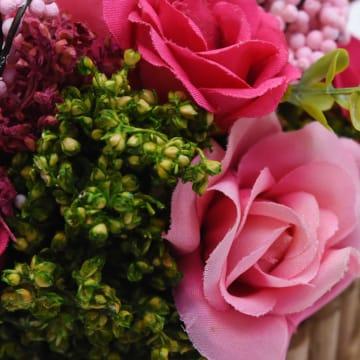 BUNGA KERING ASLI DRIED FLOWER Y50 15.5 CM - FUSCHIA_2