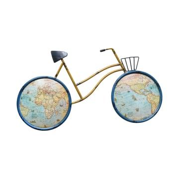 DEKORASI DINDING BICYCLE 60.5X3.8X32.5 CM_1