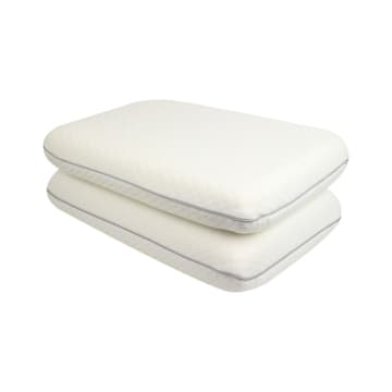 KRISHOME SET BANTAL MEMORY FOAM 60X40 CM 2 PCS_1