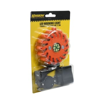 KRISBOW LAMPU WARNING RECHARGEABLE 11 MODE_2