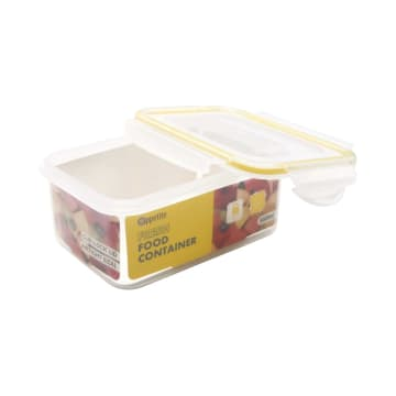 APPETITE WADAH MAKANAN RECTANGLE 550 ML - KUNING_2
