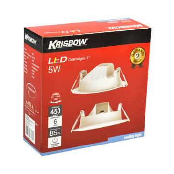 KRISBOW LAMPU DOWNLIGHT LED 4 INCI 5W - COOLDAY WHITE_3