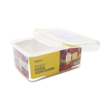 APPETITE WADAH MAKANAN RECTANGLE 1.1 LTR - KUNING_2