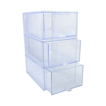 BOXBOX KOTAK SEPATU 3 TINGKAT 36X27.5X51 CM_1