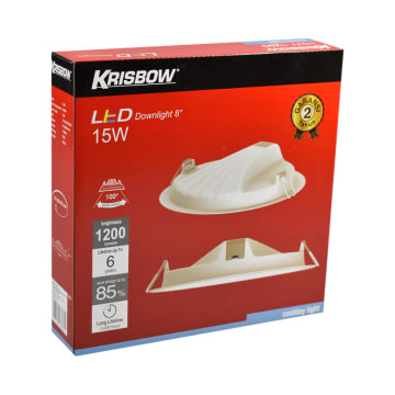 KRISBOW LAMPU DOWNLIGHT LED 8 INCI 15W - COOLDAY WHITE_4