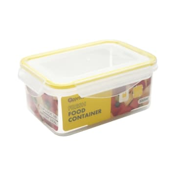 APPETITE WADAH MAKANAN RECTANGLE 550 ML - KUNING_1