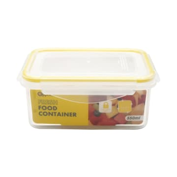 APPETITE WADAH MAKANAN RECTANGLE 550 ML - KUNING_3