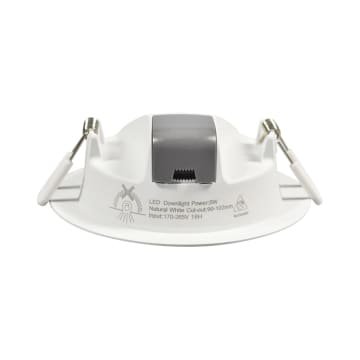 KRISBOW LAMPU DOWNLIGHT LED 4 INCI 5W - WARM WHITE_1
