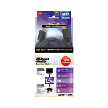 PX KABEL HDMI HIGH SPEED WITH ETHERNET HD-1.5MX_2
