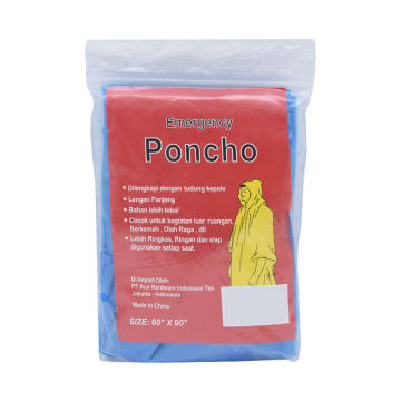 PONCHO EMERGENCY - BIRU_1